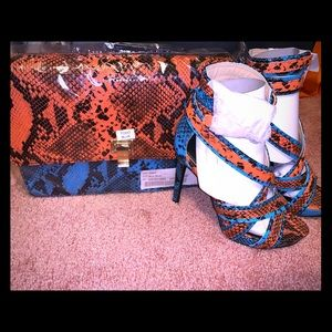 Matching Handbag and Heel Combination